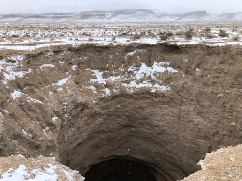 Objective West Desert Sink Hole